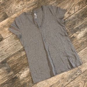 Grey Pima Cotton T-shirt Banana Republic